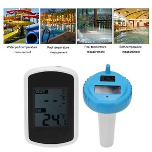 Digital Swimming Pool Floating Solar Thermometer Fish Water Temperature Monitor
