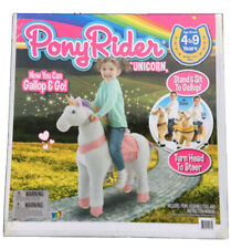 Pony Rider Gallop & Go Unicorn Ride-on Action Pony Ages 4-9, NEW!! **fast Ship**