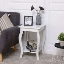 Bed Room Wood Accent Side End Coffee Classic Table Storage Shelf Sofa Furniture