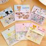 Newly 80Pcs DIY Cute Kawaii Transparent PVC Stickers Lovely Rilakkuma Sticker