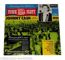 "SEALED & MINT - JOHNNY CASH - TOWN HALL PARTY LIVE 1959 − 12"" VINYL LP RECORD"