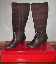 Aerosoles Cloudscape Women Over the Knee Harness Boots Color Brown Size 5