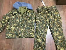 XL NEW Size 54/3 Marines USSR army uniform Butane winter suit