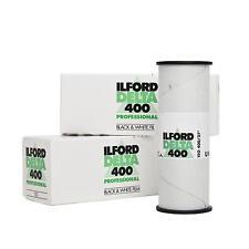 3x ILFORD DELTA 400 120 rollfim analogfilm S/W B/W NOIR FILM BLANC