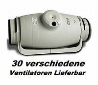 TD-250/100 SILENT Growlüfter Axiallüfter Kanallüfter Rohr-Lüfter Rohrlüfter Grow