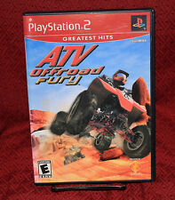 ATV Offroad Fury PS2 Complete CIB GH Sony Honda Polaris