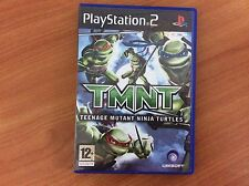 Playstation 2 PS2 Game - TMNT - PAL - with instructions