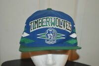 NBA MINNESOTA TIMBERWOLVES MITCHELL & NESS SNAPBACK CAP HAT HARDWOOD CLASSICS!