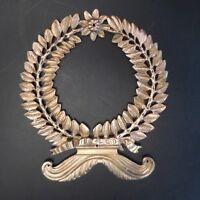 Medallion Copper Bronze 18th Renaissance France Metallic Sculpture Pn 2018