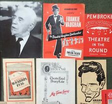 COLLECTION OF VINTAGE THEATRE PROGRAMMES