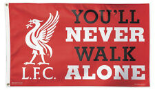 Liverpool FC NEVER WALK ALONE 3'x5' DELUXE-EDITION Official Soccer Team FLAG