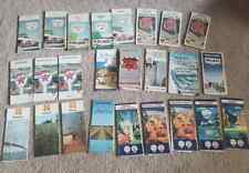 New Listing25 Vintage Road Maps Sinclair, Gulf, Texaco, Shell, Chevron, & Others