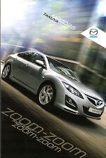Mazda 6 Takuya Limited Edition 2010-11 UK Market Sales Brochure Hatchback Estate