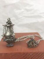 5 cm alto Incensiere accessori per santi Bagno Argento Censer Turibolo Sacred