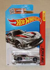 2015 Hot Wheels HW Race #150 Dodge SRT Viper GTS-R Silver New