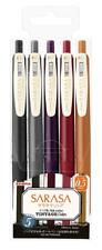 SARASA CLIP 0.5: Vintage colors: Japanese Pen set: ZEBRA: 5 colors