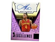 IMAN SHUMPERT AUTO 2017-2018 ONE OF ONE 1/1 Cleveland Cavaliers