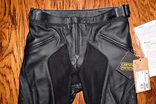 Dainese Pony C2 Lady Leather Pants Black Size 46
