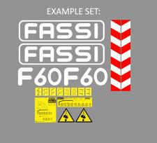 Sticker, aufkleber, decal - Crane FASSI F110, F150, F20, F45, F40, F30...  ALL