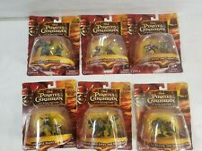Pirates of the Caribbean At World's End Lot of 6 Action Figures, Zizzle 2007 NEW