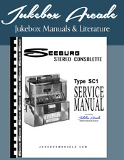 Seeburg SC1 Consolette Wall Box Manual and Parts List from Jukebox Arcade