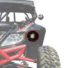 50 Cal Lower Fender LED Cube Pod Mounts for Arctic Cat Wildcat 1000 4X Limited
