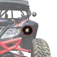Bolt on Cube Light Bar Under Fender Mount Bracket Clamps fits Wildcat X 4 1000