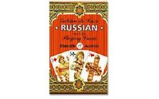 Russian Golden de Luxe Playing Cards by Piatnik 55 Cards New Sealed