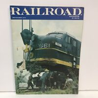 Railroad Magazine Back Issue September 1974 Rheine Engine Terminal Ghost Hoggers