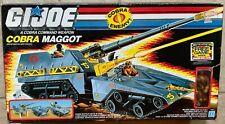 GI Joe COBRA Maggot Weapon Vehicle with WORMS Driver Figure New Sealed MIB 1987