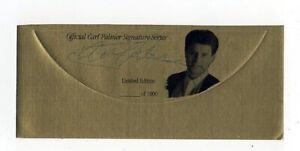 "Carl Palmer "" Emerson Lake and "" Original Hand Signed Autograph Sticker & COA"