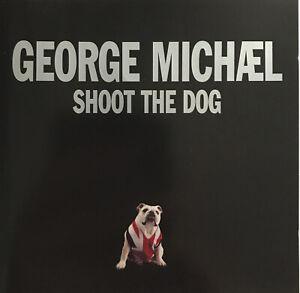 GEORGE MICHAEL Shoot The Dog CD SINGLE