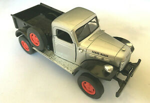 1946 Dodge Power Wagon Gray/Black/Red  DieCast  FREE SHIPPING
