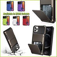 Slim Shockproof Antislip Case Cover Wallet For iPhone 11 12 MINI PRO MAX SE 2020