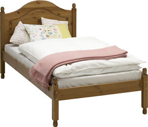 Steens Richmond  Pine 3' Single Bed Frame Complete With Solid Wood Slats