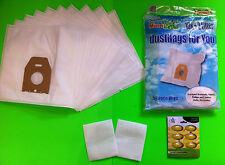 10 Sacchetti Per Aspirapolvere filtro (Mister Vac MV 602)