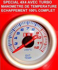 HDJ PATROL PAJERO LAND HILUX L200 JEEP RANGE! MANOMETRE TEMPERATURE ECHAPPEMENT