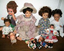 Konvolut alte Puppen Schildkröt Lidova Tvorba Schlafaugen Puppenkopf 20er Jahre