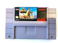 King Of The Monsters - SNES Super Nintendo Game - Tested - Working - Authentic!