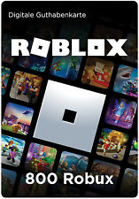 ROBLOX Gift Card Guthaben Geschenkkarte Voucher Code   800 Robux   - per Mail