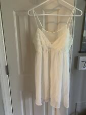 FLORA by FLORAL NIKROOZ IVORY XL  BABYDOLL NIGHTGOWN