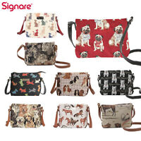 Crossbody Shoulder Bag Tote Purse Satchel Animal Design Signare Tapestry