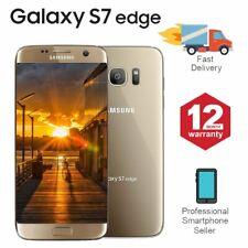 SAMSUNG GALAXY S7 Edge 32GB sbloccato 4G SIM telefono Mobile Android Oro