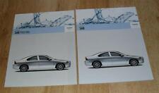 Volvo S60 Brochure Set 2005-2006 - 2.0T 2.5T T5 2.4D D5 - S SE Sport