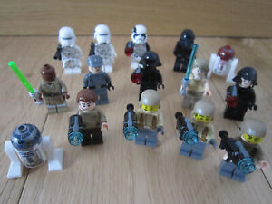 LOT PERSONNAGES MINIFIGURES LEGO STAR WARS - MINIFIGS