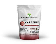 Caffeine Pure Powder 500g 2500 servings X 200mg Focus FREE WORLD SHIPPING !