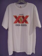 Dos Equis White T-Shirt Mens / Womens Size X-Large 100% Cotton NWT