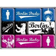 9-teiliges Magnet Set Berlin Retro Style 83043