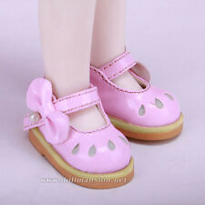 1/6 BJD Shoes Yosd Dollfie DIM Lolita Pink Shoes Dollmore AOD DZ DOD SOOM LUTS