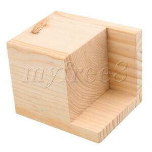 Wood Color Semi-closed Table Bed Riser Lift Furniture Lifters 8cm Lift Height